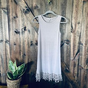 Charlotte Russe dress with Crochet design